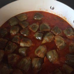 artichoke tomato stew