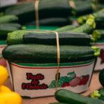 fresh cucumber litre crate