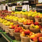 farmer market apple bushels